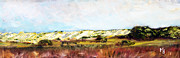 Cape Cod Paintings - The Great Cape Cod Dunesscape by Michael Helfen