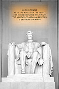 Lincoln Photos - The Great Emancipator by Greg Fortier