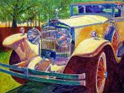 Most Commented Paintings - The Great Gatsby by David Lloyd Glover