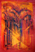 Sun Rays Pastels Metal Prints - THE GREAT MOSQUE OF CORDOBA   Directing to the Mind of God  Metal Print by Josie Taglienti
