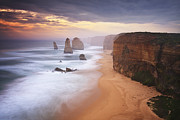 Number 12 Posters - The Great Ocean Road Victoria Australia Poster by Fabio Nodari