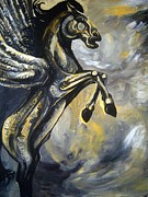 Greek Mythology Originals - The Great Pegasus by Vedran V Pasalic