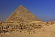 Northern Africa Prints - The Great Pyramid of Cheops Giza Egypt  Print by Ivan Pendjakov