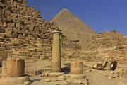 Northern Africa Prints - The Great Pyramids Giza Egypt  Print by Ivan Pendjakov