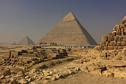 Northern Africa Prints - The Great Pyramids of Giza Egypt  Print by Ivan Pendjakov