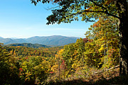 Gatlinburg Tennessee Prints - The Great Smoky Mountains Print by Lena Auxier