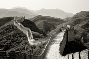 Great Wall Photos - The Great Wall of China by Ron Sumners