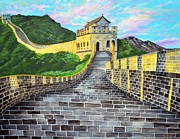 Great Digital Art Originals - The Great Wall of China by Sarah Tiffany King