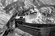 China Framed Prints - The Great Wall of China Framed Print by Sebastian Musial