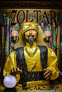 Zoltar Framed Prints - The Great Zoltar Framed Print by David Morefield