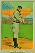 Ty Cobb Posters - The Greatest Tiger Poster by Benjamin Yeager