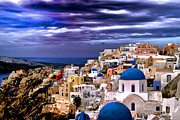Travel Photo Prints - The greek Isles Print by Tom Prendergast