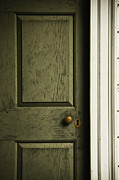 Entrance Door Photos - The Green Door by Margie Hurwich