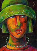 June Walker - The green hat
