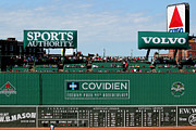 Boston Red Sox Photo Metal Prints - The green monster 99 Metal Print by Tom Prendergast