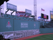 Boston Red Sox Metal Prints - The Green Monster Metal Print by Brian Hoover