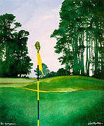 The Greenspeeper... Print by Will Bullas