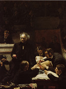 Philadelphia Painting Prints - The Gross Clinic Print by Thomas Eakins