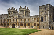 United Kingdom Greeting Cards Posters - The Grounds of Windsor Castle Poster by Kim Andelkovic