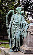Tennessee Landmark Prints - The Guardian Angel Print by Barbara Chichester