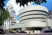 5th Ave Photos - The Guggenheim by Allen Beatty