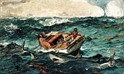 Winslow Homer - The Gulf Stream