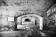 Fort Jefferson Photos - The Gunrooms In Fort Jefferson Dry Tortugas National Park Florida Keys Usa by Joe Fox