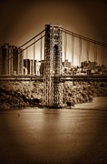 The Gwb Print by Arnie Goldstein