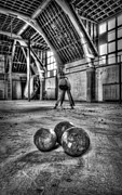 The Gym Print by Jason Green