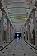 House Of Representatives Photos - The Hall of Columns by Susan Candelario