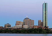 Charles River Photo Prints - The Hancock and Boston Print by Juergen Roth