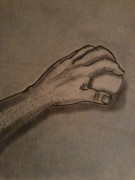 Gerald Griffin Art - The Hand by Gerald Griffin