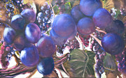 Vine Leaves Originals - The Harvest by Chuck Gebhardt