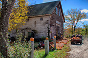 Farm Stand Prints - The harvest is in Print by Jeff Folger