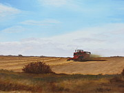 Combine Paintings - The Harvest by Linda Koch