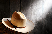Cowboy Hat Photo Prints - The Hat Print by Olivier Le Queinec