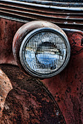 Ron Roberts Photography Greeting Cards Prints - The Headlight Print by Ron Roberts