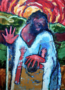 Jesus Art Painting Framed Prints - The Healing of a Child Framed Print by Daniel Bonnell
