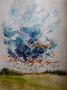 Big Skies Paintings - The Heavens Declare by Alina Foley