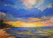 Brilliant Paintings - The Heavens Declare the Glory of God by Anne Small