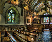 Stained Glass Windows Photos - The Hidden Chapel by Ian Mitchell