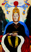High Priestess Prints - The High Priestess Print by An-Magrith Erlandsen