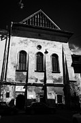 Eastern Orthodox Photos - The High Synagogue in the old jewish district of krakow by Joe Fox