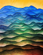 The Hills Are Alive Print by Brenda Bryant