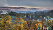 Farm Towns Prints - The Hills Print by Bill  Wakeley