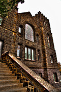 Brick Building Art - The Historic Greystone Church in Pullman Washington by David Patterson