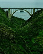 Pch Framed Prints - The Historic PCH Framed Print by Benjamin Yeager