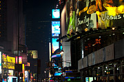 Άγιος Νικόλαος Prints - The Holidays in Time Square Print by Paul Mangold
