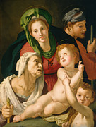 Famous Artists - The Holy Family by Bronzino