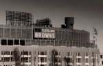Browns Framed Prints - The Hometeams Framed Print by Kenneth Krolikowski